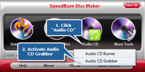 Rip Audio CD