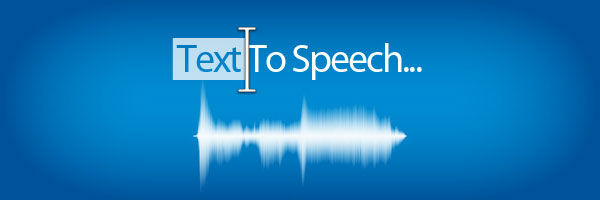 Convert Text to Speech